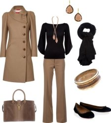 Classic work outfit idea 1