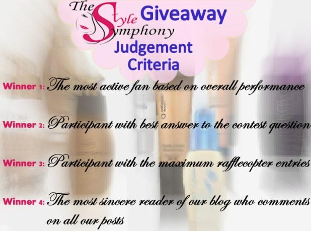 judgement criteria