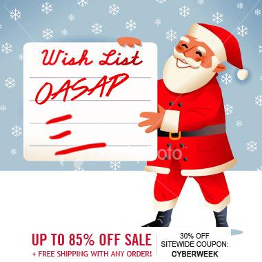 OASAP Christmas Wishlist