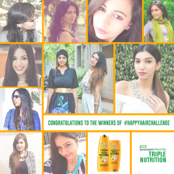 Garnier happy hair challenge winner