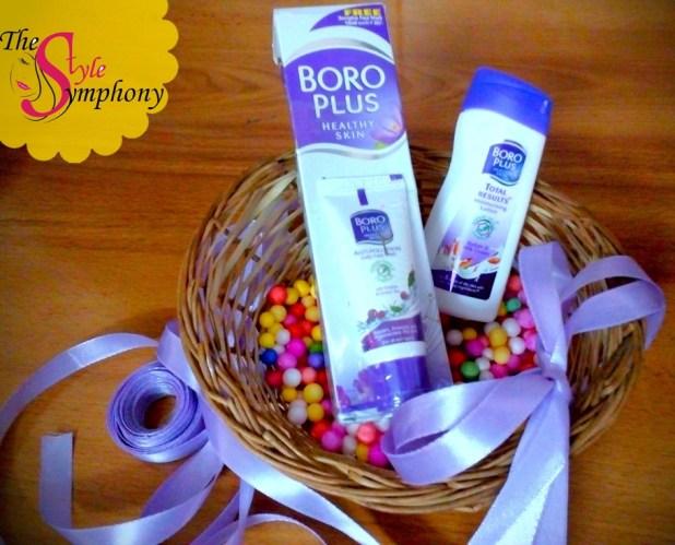 boroplus cosmetics hamper