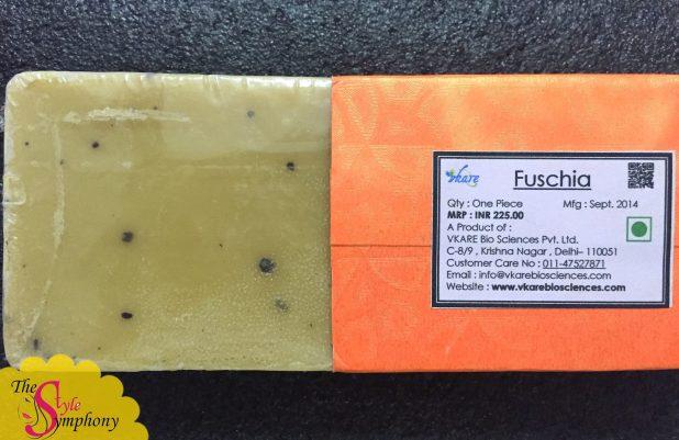 Fuschia Handmade Glycerin Soap