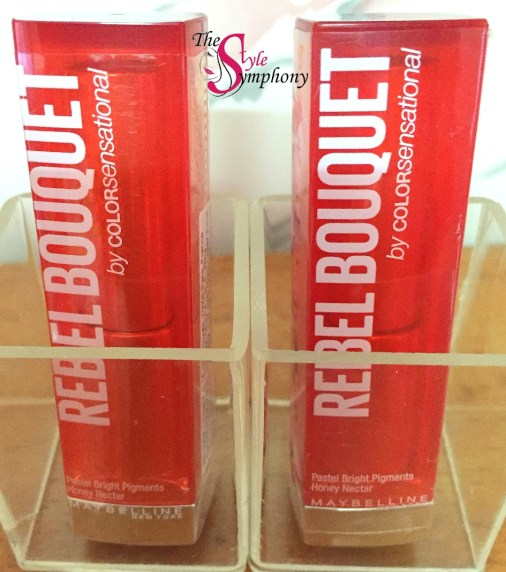 Maybelline Rebel Bouquet lipsticks