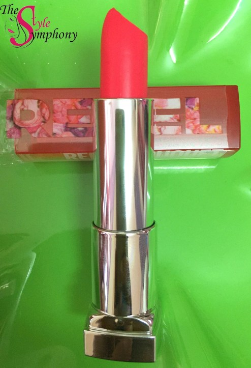Maybelline Rebel Bouquet lipstick