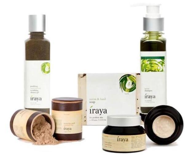 Iraya neem based skin care range