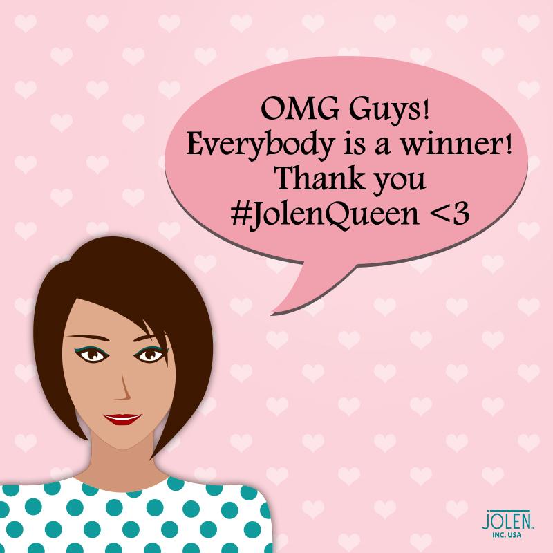 #JolenQueen Winners
