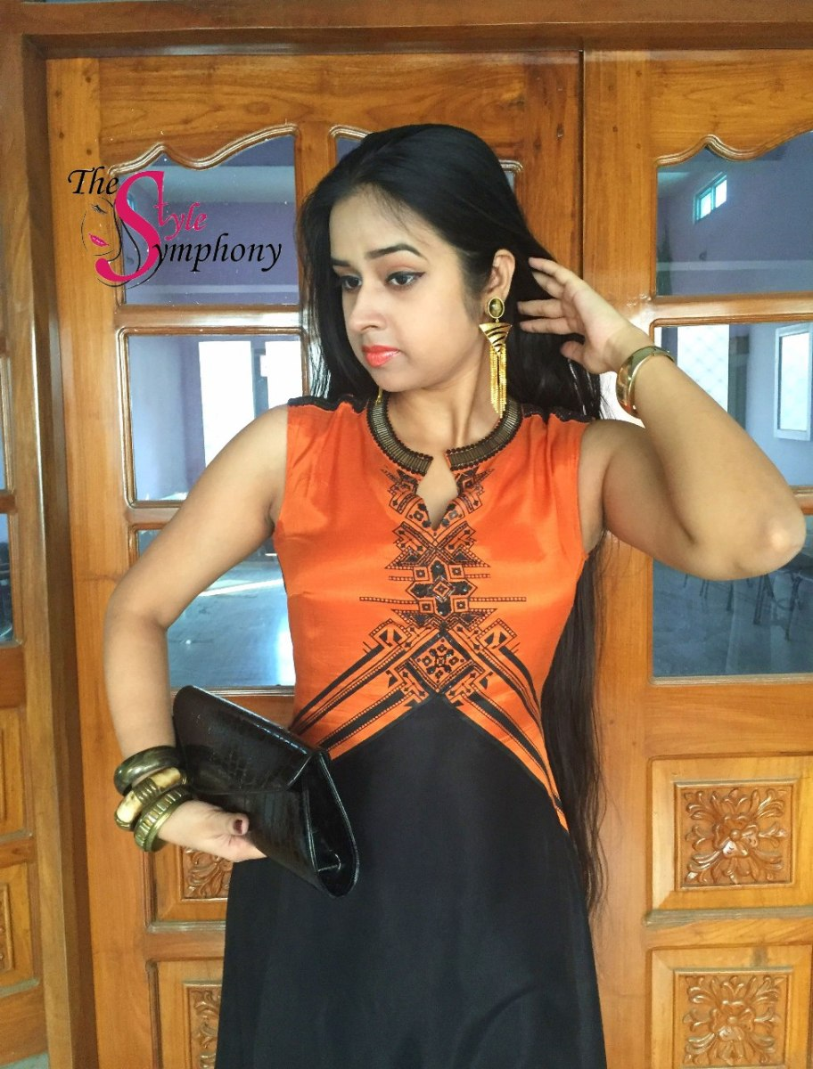 OOTD: Collared Kurta with Asymmetric Hemline from Wishful,W for Woman