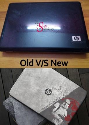 old v/s new