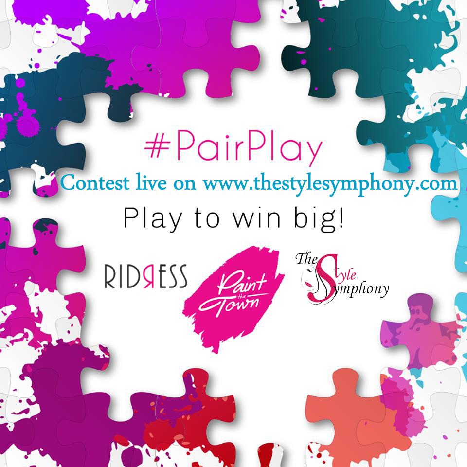 Ridress #pairplay contest