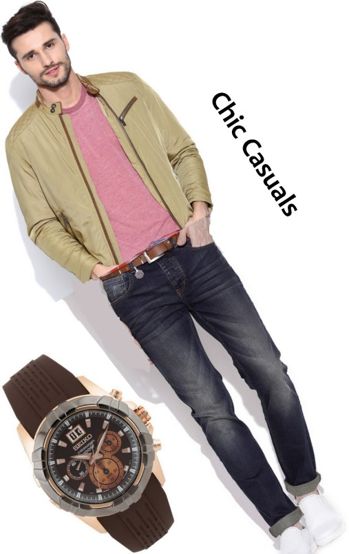 chic casuals men style