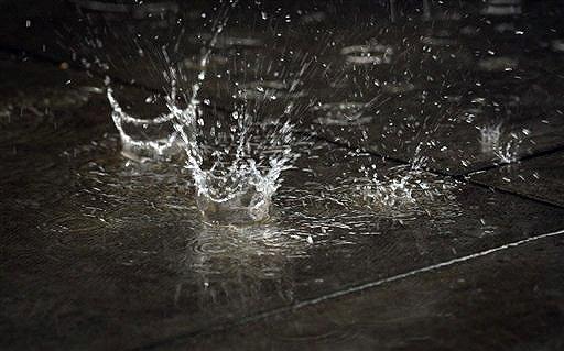 raindrops haiku