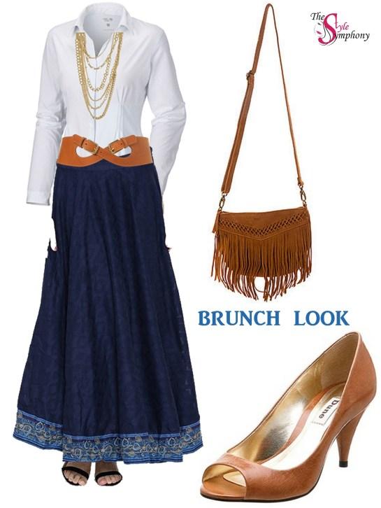 brunch look long skirts BIBA