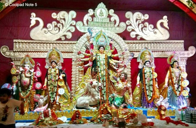 Durga Puja Dussehra celebrations