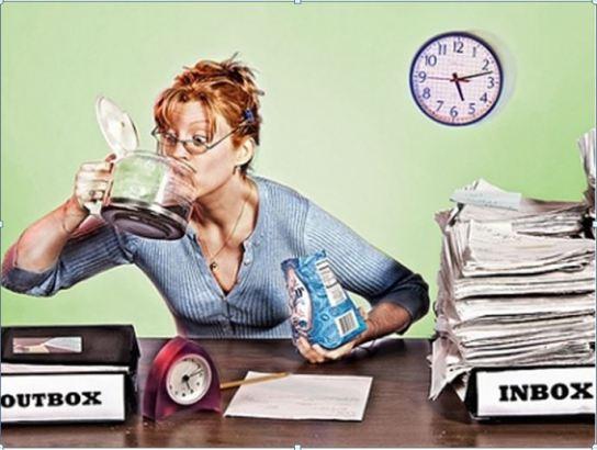 stress binging workplace