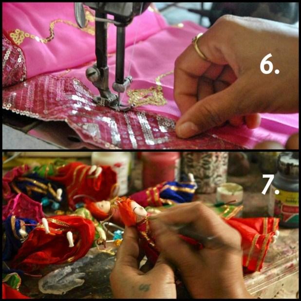 costume dolls indian 9to9 shopee handmade unbreakable