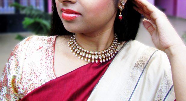 kundan necklace sets 9to9 shopee