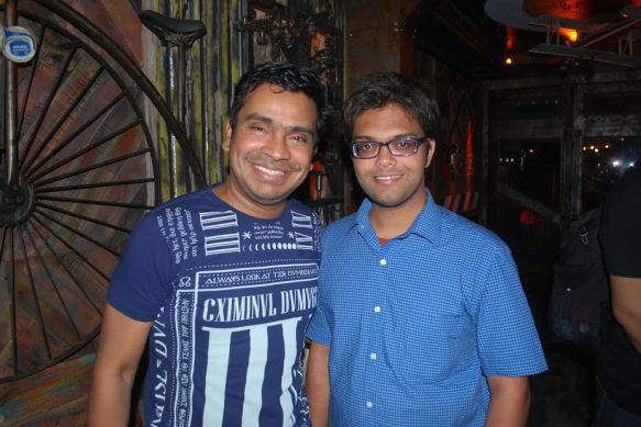 Devesh Purohit at The Wrong Turn Launch