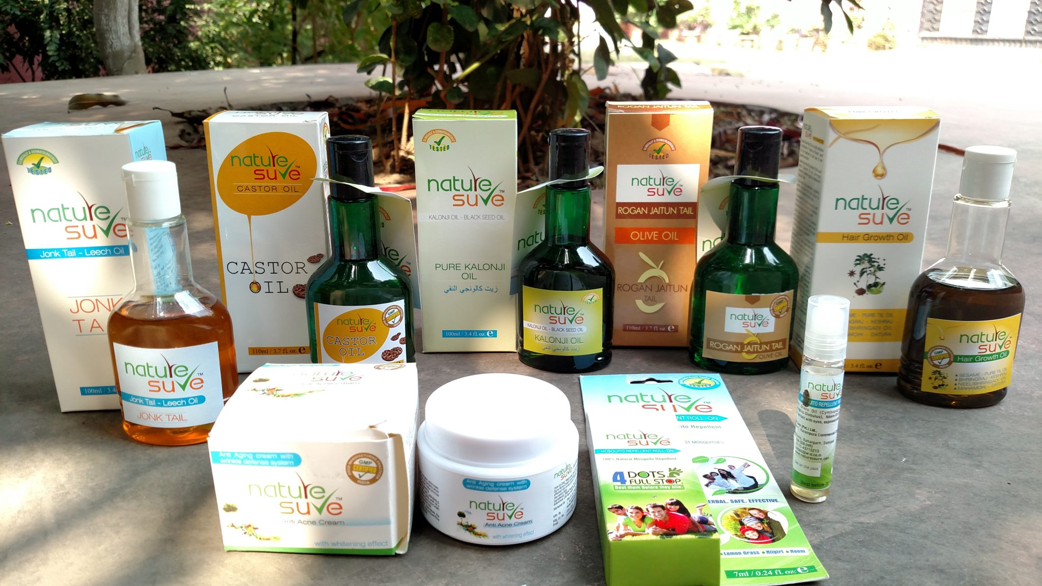 NATURE SURE: Natural & Herbal Products for Personal Care