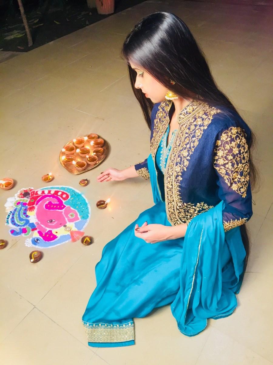 brijraj fashion the style symphony Diwali ootd