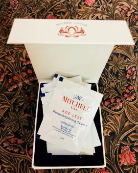 Mitchell U.S.A. skincare products hamper