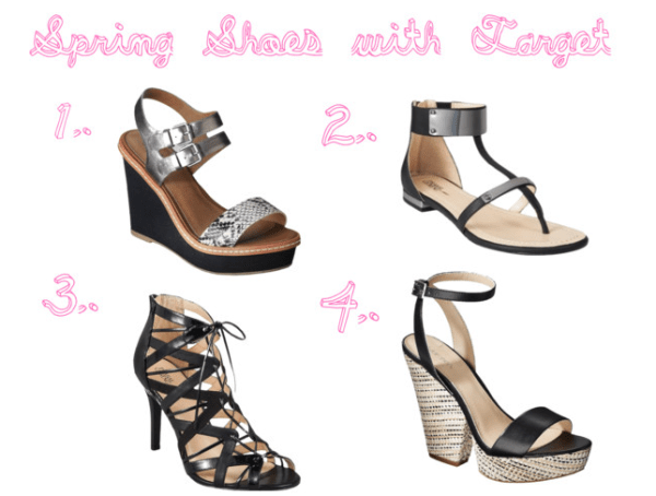 9ebb900e60e56a the stylish housewife » Blog Archive Spring Shoes with Target ...