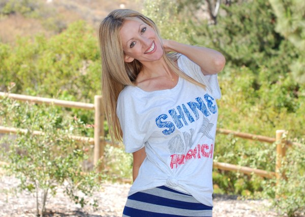 The Shine Project Patriotic Tee