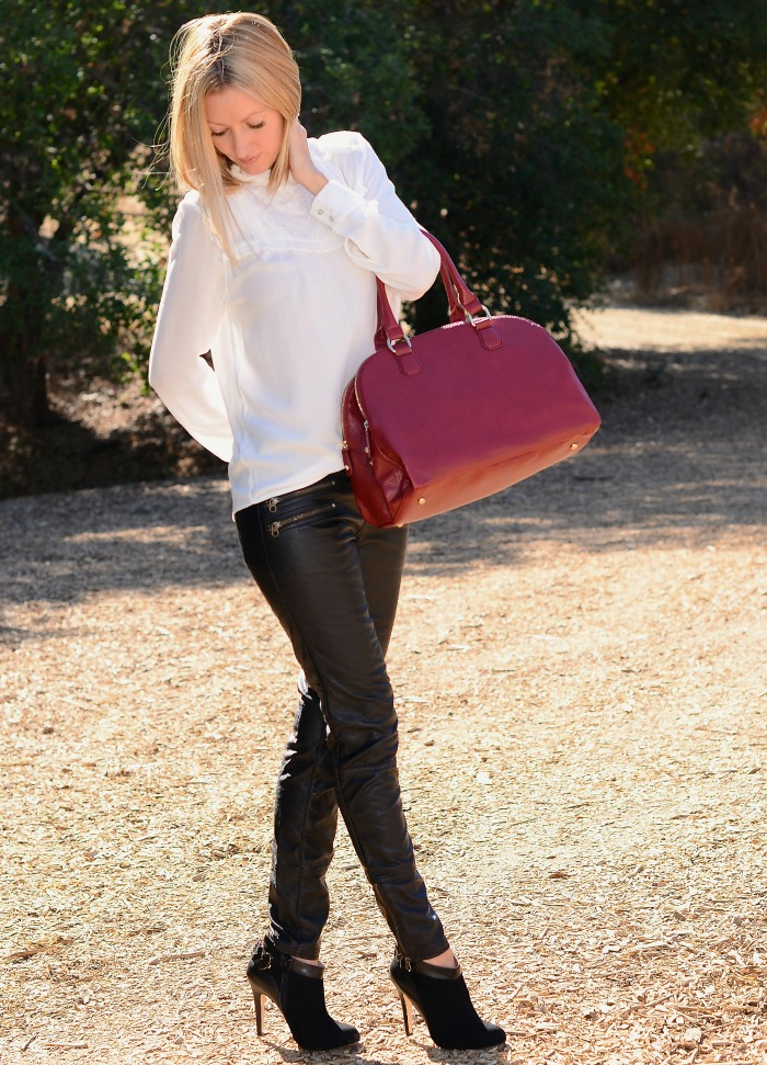 Faux Leather Pants 2