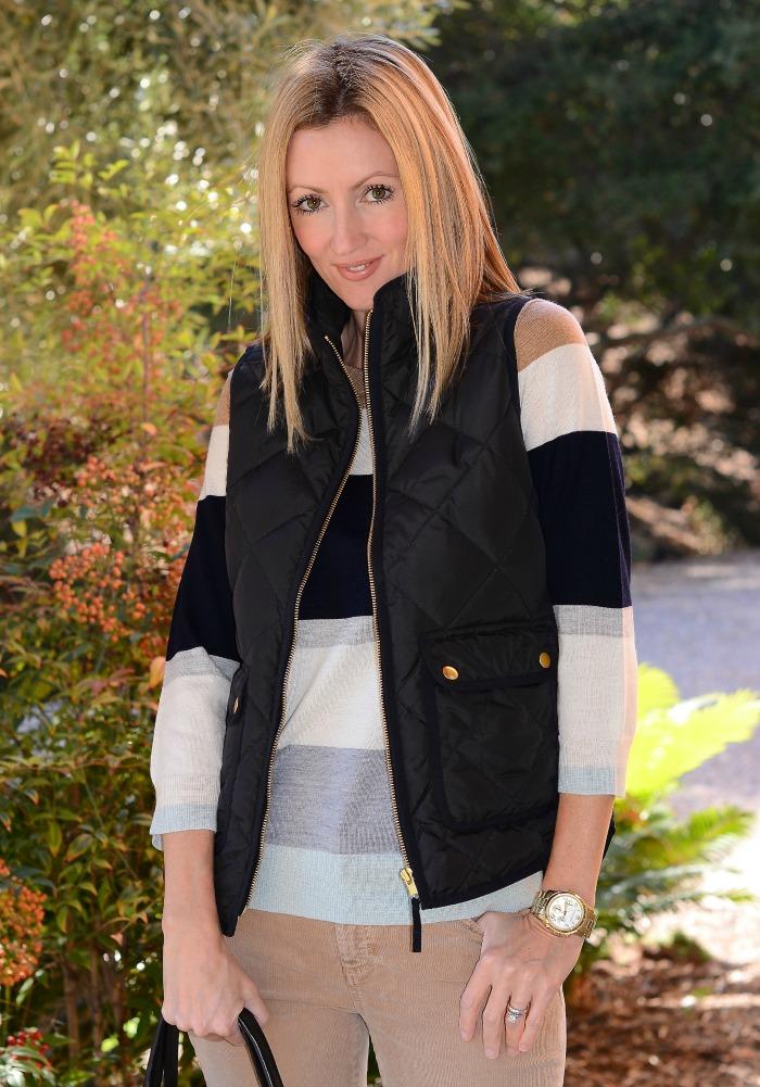 Jcrew quilted vest