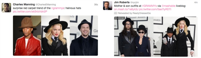 #Grammys 2014 Twitter Feed