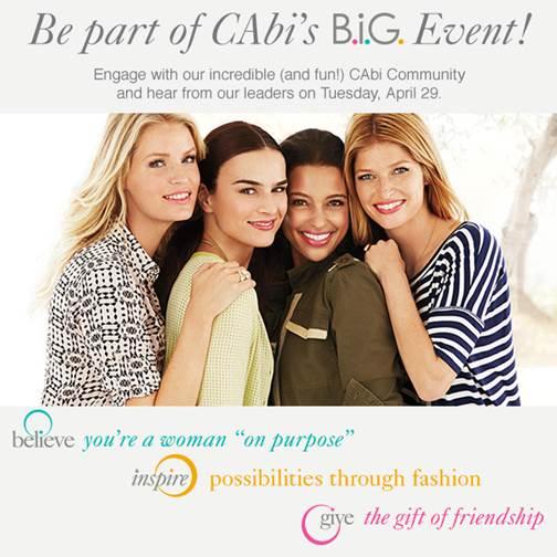 CAbi B.i.G. Event