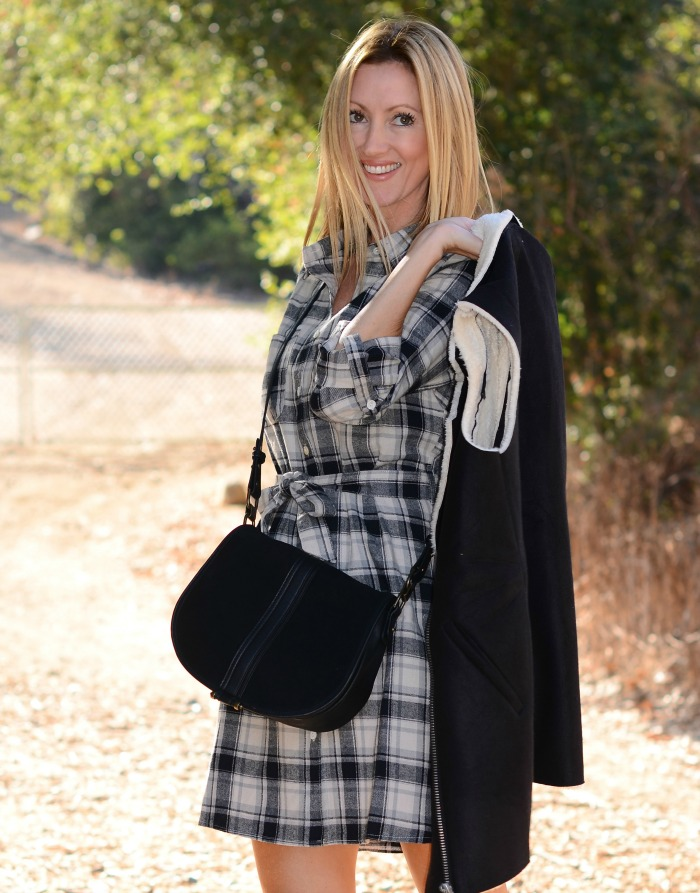 Plaid & Shearling