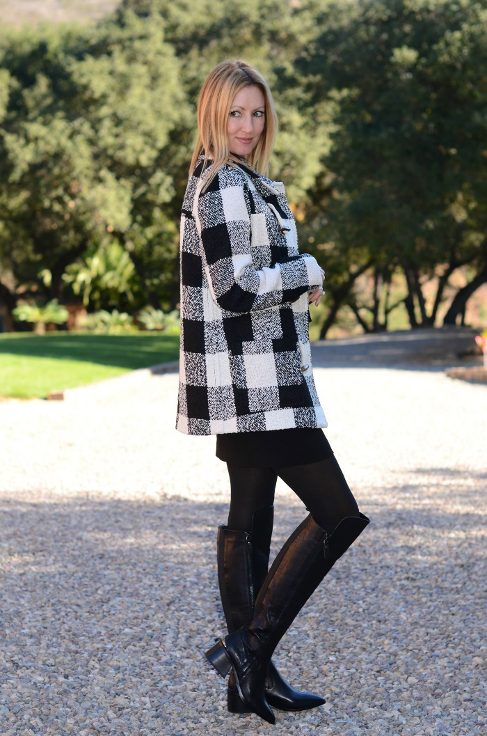 Forever 21 Plaid Check Jacket
