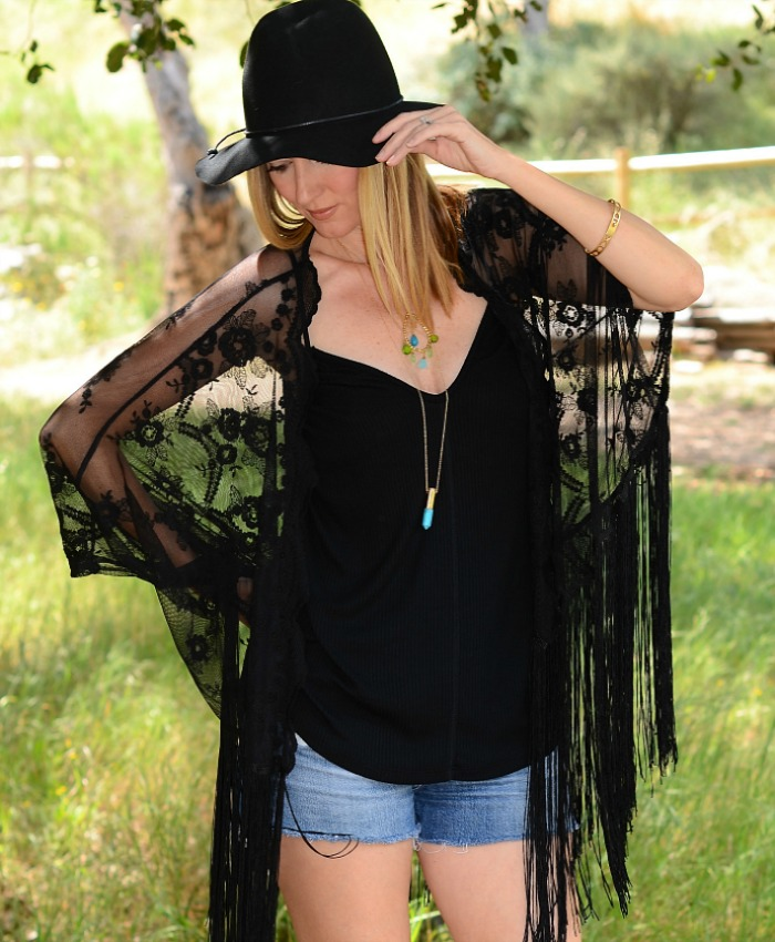 Lebrisa Designs Crystal Bullet Necklace