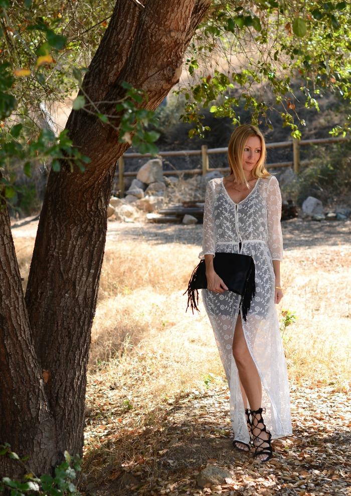Forever 21 Sheer Maxi Dress 2