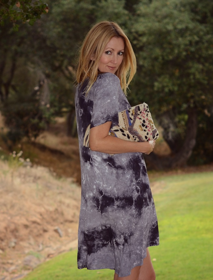 Freeloader Tie Dye Swing Dress
