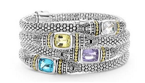 LAGOS gemstone bracelet
