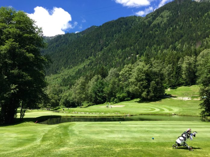 Lush Fairways on Chamonix Golf Course