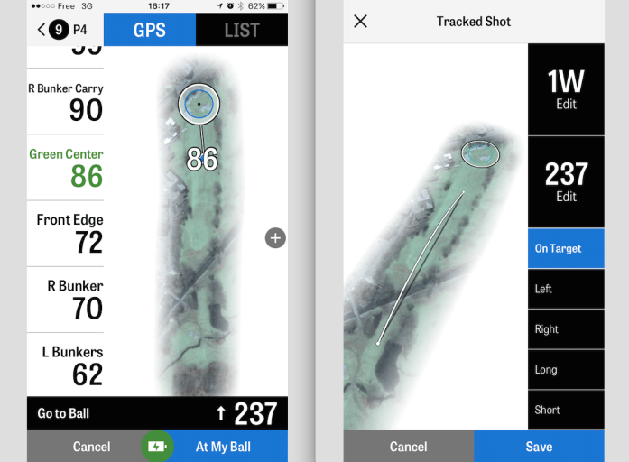 Golfshot App Screenshot