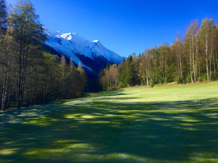 Autumn at Chamonix Golf Course