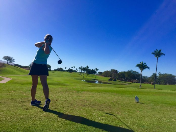 The Sub Par Golfer Tees Off at Maui Nui Golf Course