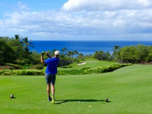 Phil at Wailea Emerald Golf Course