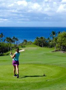 The Sub Par Golfer Tees Off at Wailea Emerald
