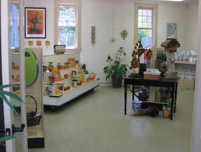 Visitors to Lakewold Gardens this year will be greeted by several changes at the site. Visitors now can pay their admission fees at the remodeled garden shop (housed in the former carriage house). The garden shop also has been remodeled, featuring new inventory: everything from garden tools to garden books. Stop by. Gift Shop is open from 10-4, Wednesday-Sunday. Photo by Nancy Covert.