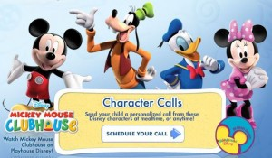 mickey mouse phone call free