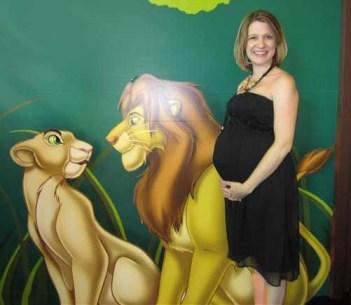 Simba and Nala at Lion King Premiere