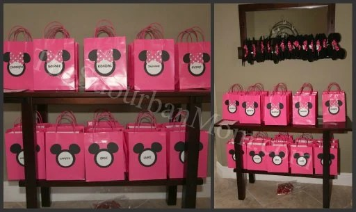 Minnie Mickey Mouse Goodie Bags