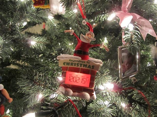 hallmark countdown ornament