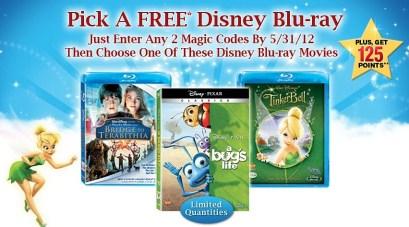 Free Disney Blu-ray Movie When You Enter Two Disney Movie