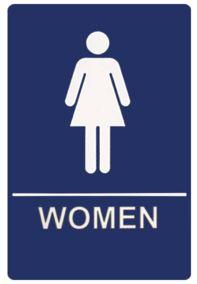 Public Bathroom Sign