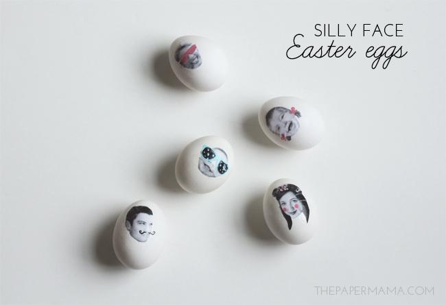 Family Photo Easter Eggs